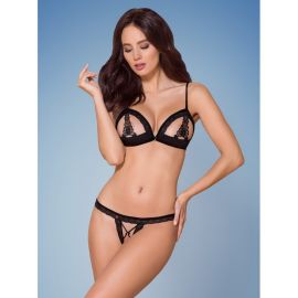 ENSEMBLE 2 PIECES NOIR 865-SET-1 - OBSESSIVE