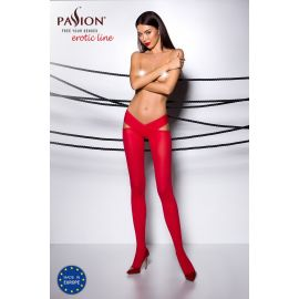 COLLANT OUVERT ROUGE TI005 - PASSION