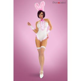 COSTUME BODY LAPIN COQUIN 4 PIECES - PROVOCATIVE