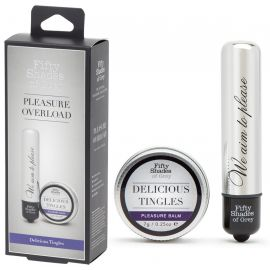 STIMULATEUR ET BAUME STIMULANT DELICIOUS TINGLES - FIFTY SHADES OF GREY