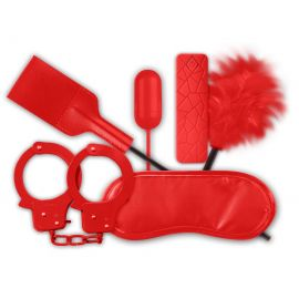 COFFRET FETISH BDSM SOFT ROUGE - DREAM TOYS