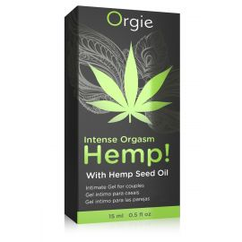 HEMP - GEL D'EXCITATION INTENSE CANNABIS - ORGIE