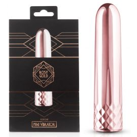 VIBROMASSEUR RECHARGEABLE MINI ROSY - ROSY GOLD