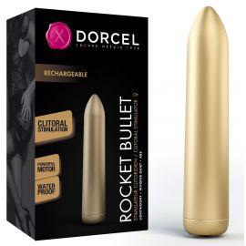 STIMULATEUR RECHARGEABLE ROCKET BULLET DORÉ - DORCEL