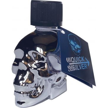 POPPERS QUICK SILVER SKULL - AMYLE - 25 ML