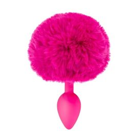 PLUG FUCHSIA QUEUE DE LAPIN