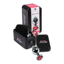 PLUG BIJOU FUCHSIA M EN COFFRET - SECRET PLAY