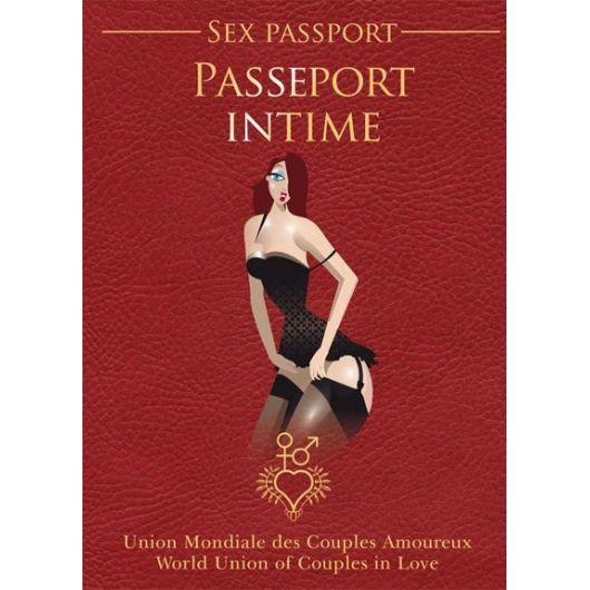 PASSEPORT INTIME FRANCAIS - ANGLAIS