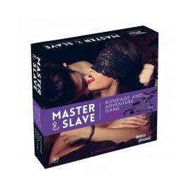 MASTER & SLAVE VIOLET KIT BDSM - TEASE & PLEASE