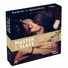 MASTER & SLAVE KIT BDSM - TEASE & PLEASE