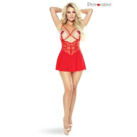 NUISETTE BABYDOLL ROUGE INSTANT LOVERS - PROVOCATIVE