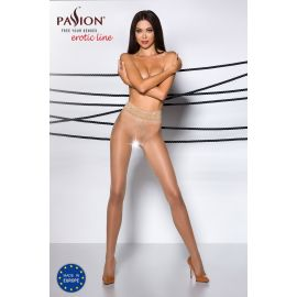 COLLANT OUVERT BEIGE TI001 - PASSION