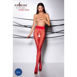 COLLANT OUVERT ROUGE TI001 - PASSION