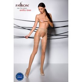 COLLANT OUVERT BEIGE TI002 - PASSION