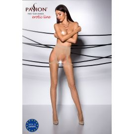 COLLANT OUVERT BEIGE TI004 - PASSION