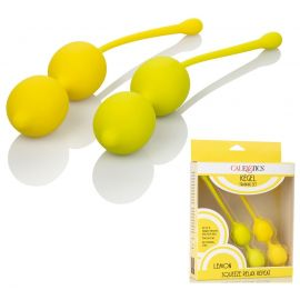 BOULES DE GEISHA - KIT DE MUSCULATION LEMON
